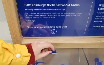 64th Group in Tesco Bags of Help