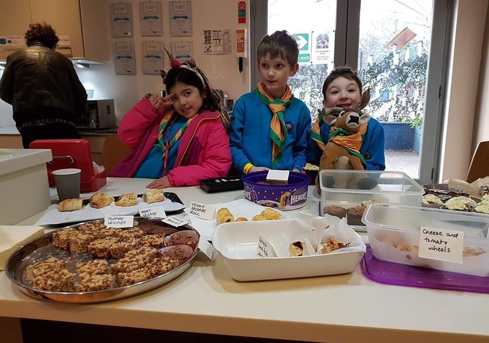 Beavers Bake-up a Storm